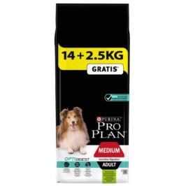 Purina Pro Plan Dog Adult Medium Sensitive Digestion Lamb 14+2,5 kg
