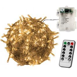VOLTRONIC 67684 Vánoční řetěz - 20 m, 200 LED, teple bílý, na baterie