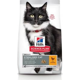 Hill's Feline Mature Ad. 7+ Sterilised Chicken 3 kg