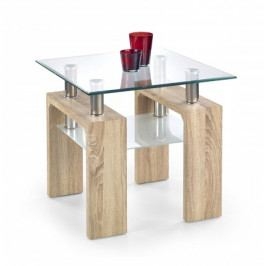 Diana H kwadrat - Konferenční stolek (dub sonoma)