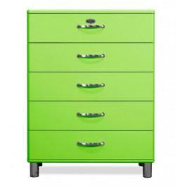 Malibu - Komoda (zelená)