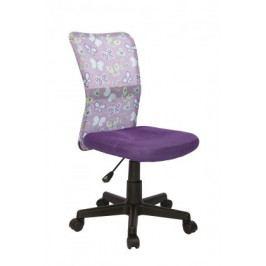Dingo - dětská židle (fialová)