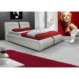 Čalouněná postel Santa Fe 180x200, vč. roštu a úp