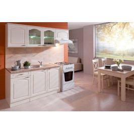 Kuchyně Julia - 210 cm (vanilka/magnolie/tropica beige)