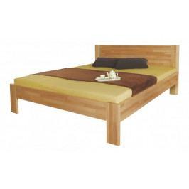 Gemma - rám postele, 200x140 (masívní buk, přírodní)