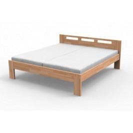Rám postele Augusta - 160x200 (masiv buk, přírodní lak)