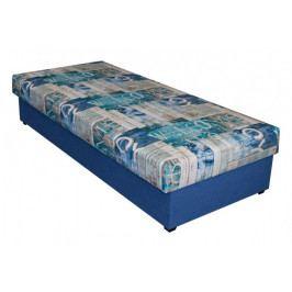 Válenda Dana - 90x200, modrá, s úp
