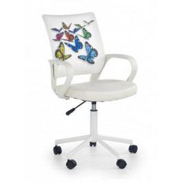 IBIS butterfly - dětská židle, područky, regulace výšky sedáku