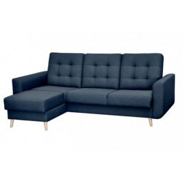 Rohová sedačka rozkládací Avanti levý roh ÚP modrá
