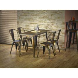 Magnum - Jídelní stůl obdélník 120x60 cm (měděná)