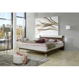 Dřevěná postel Catania 180x200 cm, champagne, nocce