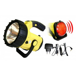 Ruční svítilna Pavexim S-2111, LED, žlutá