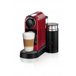 Kapslový kávovar KRUPS Citiz & Milk XN761510 červený