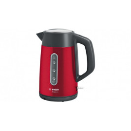 Rychlovarná konvice Bosch TWK4P434, červená, 1,7l