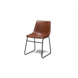 Jídelní židle Guaro hnědá, černá
