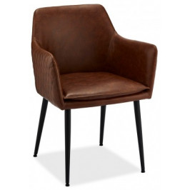 Jídelní židle Monda hnědá, černá