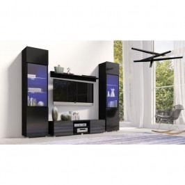 dodání 30 dní - Moderní nábytek do obýváku GORDIA sestava 12 Černý