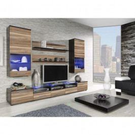 dodání 30 dní - Moderní obývací stěna CAMA 2E Wenge / Ořech baltimore