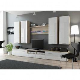 dodání 30 dní - Moderní obývací stěna DREAM 3E Dub Sonoma