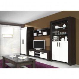 dodání 30 dní - Moderní systémový nábytek CEZAR 2 milano/crem