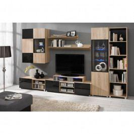 dodání 30 dní - Moderní nábytek do obývacího pokoje GORDIA 2 sonoma