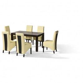 dodání 30 dní - Stůl POLO + židle U-6 (6ks.) - sestava MM5
