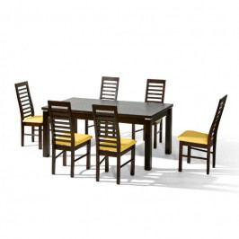 dodání 30 dní - Stůl NATAN + židle P-31 (6ks.) - sestava MM2