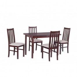 dodání 30 dní - Stůl MAX IV + Židle BOSS X (4ks.) DX7
