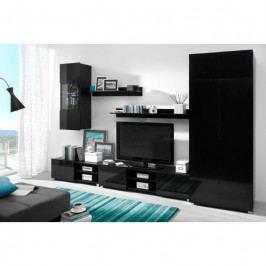 dodání 30 dní - Levný nábytek do obýváku DANGELO sestava 3 Černý