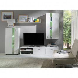 dodání 30 dní - Moderní nábytek do obývacího pokoje MIRA / FARO Bílý