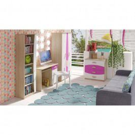 dodání 30 dní - Trendy nábytek do dětského pokoje TENUS II Sestava 2