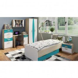 dodání 30 dní - Moderní nábytek pro děti TENUS II Sestava 11