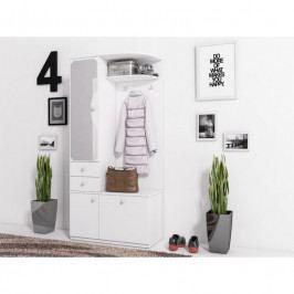 dodání 30 dní - Levná předsíňová stěna MAX M bílá