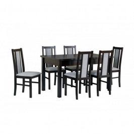 dodání 30 dní - Stůl MODENA I + Židle BOSS XIV (6ks.) -DX19