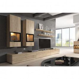 dodání 30 dní - Moderní obývací stěna BAROS