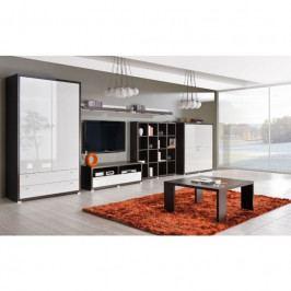 dodání 30 dní - Moderní obývací stěna KENDO Sestava 4