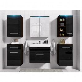 dodání 30 dní - Luxusní koupelna MEGI 4 Wenge / Černý lesk