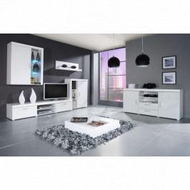 dodání 30 dní - Luxusní nábytek SAMBA II sestava A bílý lesk
