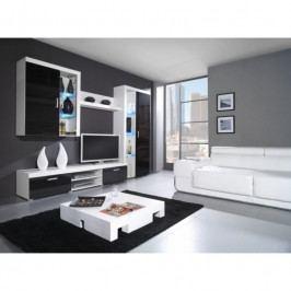 dodání 30 dní - Elegantní nábytek SAMBA II sestava B Černý lesk