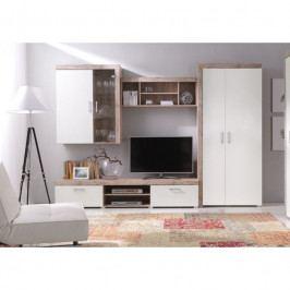dodání 30 dní - Moderní nábytek do obývacího pokoje SAMBA 2 san marino / krémový