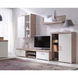 dodání 30 dní - Elegantní nábytek do obýváku SAMBA sestava 8 san marino / krémový