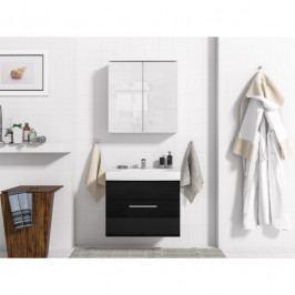 dodání 30 dní - Luxusní koupelna DREAM 9 Bílý / Černý lesk