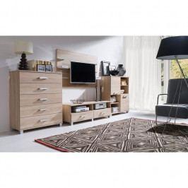 dodání 30 dní - Moderní obývací pokoj MAXIMUS Sestava 31