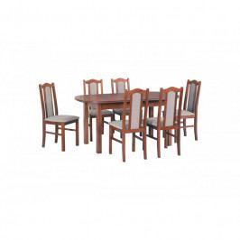 dodání 30 dní - Stůl WENUS III + Židle BOSS II (6ks.) DX11