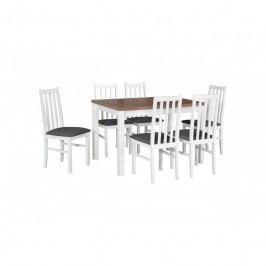 dodání 30 dní - Stůl Max 5 + Židle Bos 10 (6ks.) - DX10