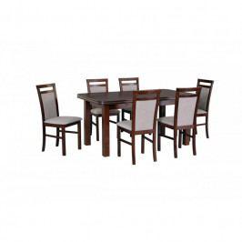 dodání 30 dní - Stůl WENUS 5 + Židle MILANO 5 (6ks.) DX28