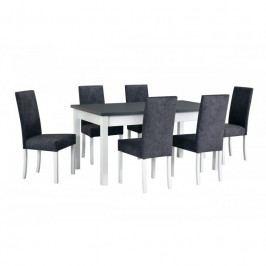 dodání 30 dní - Stůl MODENA 1 + Židle ROMA 2 (6ks.) DX34