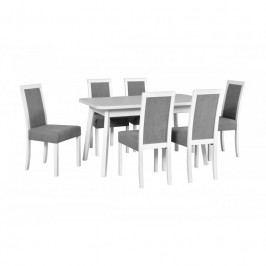 dodání 30 dní - Stůl OSLO 6 + Židle Roma 3 (6ks.) DX35