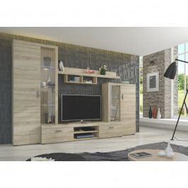 dodání 30 dní - Moderní obývací stěna ASTI Sonoma