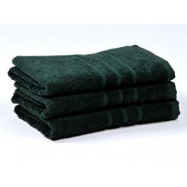 Ručník froté 50x100 cm - COMFORT - tmavě zelený